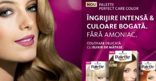 Noua Palette Perfect Care Color: Elixir de Matase, ZERO amoniac si culori bogate, incredibil de vibrante