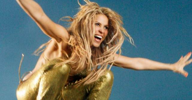 Video: Shakira, prima aparitie televizata de la nastere