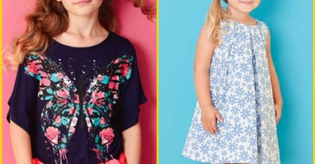 Printuri florale, stil marinaresc si imprimeuri digitale jucause, in noua colectie Debenhams pentru copii