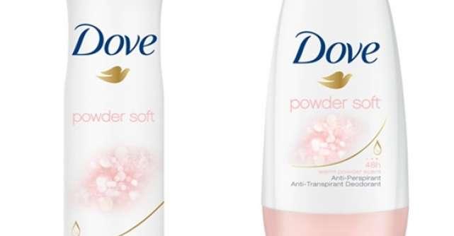 Descopera noua gama de deodorante antiperspirante  Dove Powder Soft