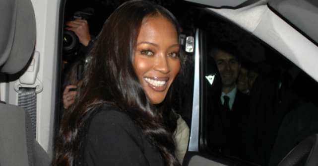 Naomi Campbell, bataie in public