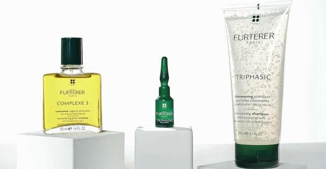 René Furterer propune soluții din extracte naturale pentru căderea părului:un ritual în trei pași