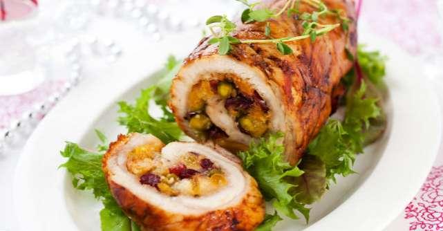 Rulada cu carne: o reteta apetisanta pentru sarbatori