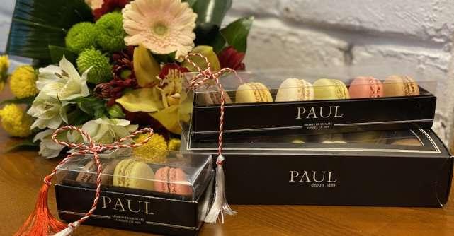 PAUL sărbătorește începutul primăverii cu o colecție de mărțișoare - Mini macarons