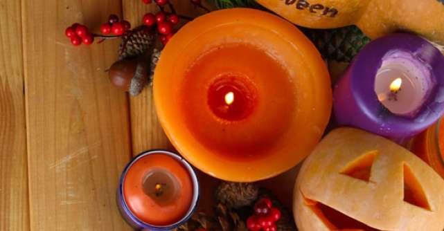 4 pasi pentru a decora masa de Halloween