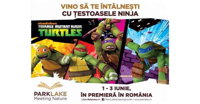 Țestoasele Ninja vin pentru prima dată în România, la ParkLake