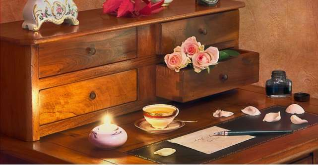 4 cele mai frumoase piese de mobilă pentru un birou în stil vintage