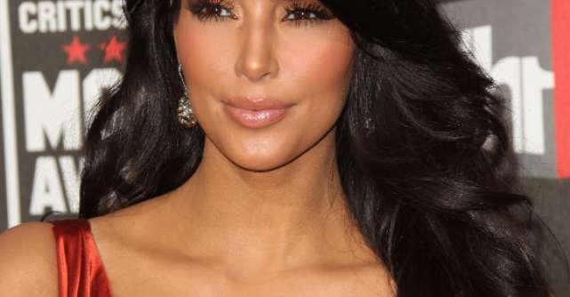 Foto: Afla secretul machiajului perfect al lui Kim Kardashian
