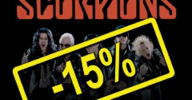 Reduceri pentru biletele la concertul Scorpions!