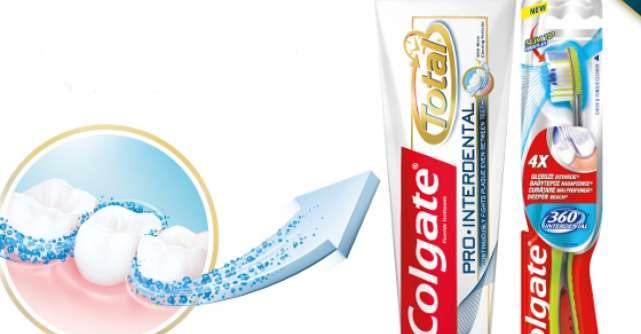 Noul Colgate Total PRO Interdental revolutioneaza experienta periajului dentar