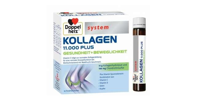 Pentru o viață activă și articulații sănătoase: Kollagen 11.000 Plus