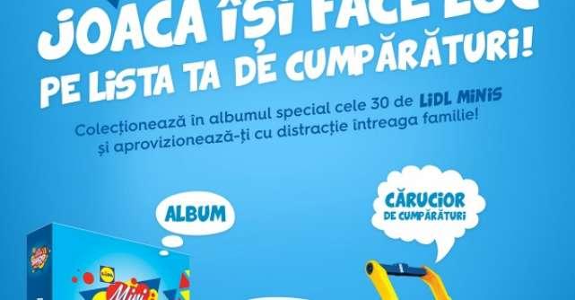Lidl lanseaza campania Lidl Mini Shop si ii provoaca pe clienti la joaca