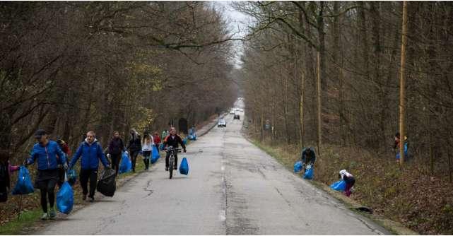 Se lansează Plogging pentru România,  mișcare ecologică prin alergare și sport, ce curăță de gunoaie zonele verzi din țară