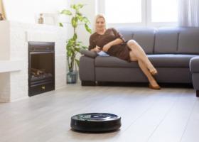 Robot de curatenie: o casa luna in doar cateva minute!