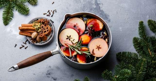 Reteta lui Jamie Oliver de vin fiert cu mirodenii