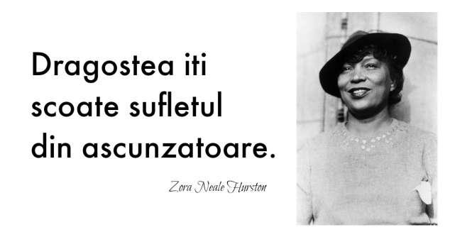 Alfabetul dragostei: Cele mai frumoase citate despre iubire dupa Zora Neale Hurston