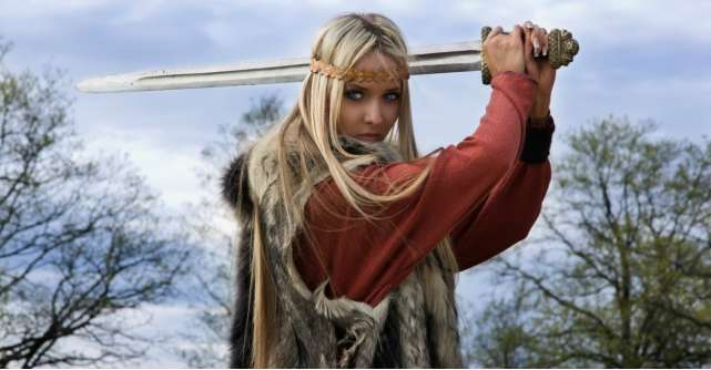 Look de inspiratie vikinga