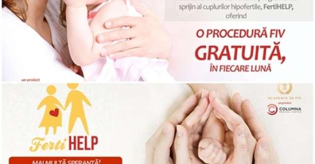 Academia de FIV lanseaza programul FertiHelp