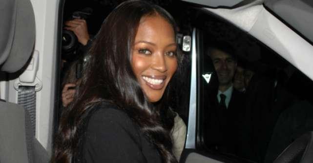 Naomi Campbell, probleme grave in Paris