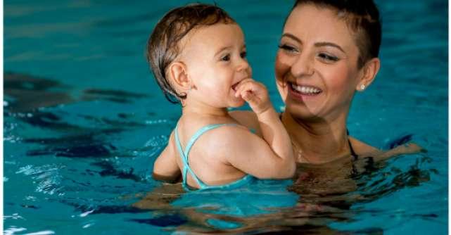 Baby Spa are un ambasador celebru - fetitia Giuliei Anghelescu