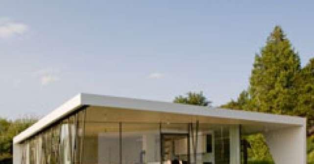 Arhitectura contemporana: casa in forma de cub