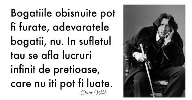 Alfabetul dragostei: Cele mai frumoase citate despre iubire dupa Oscar Wilde