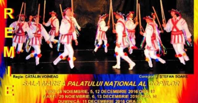Teatrul Stela Popescu va lansa, de 1 decembrie, feeria folclorica Romania, Tara magica