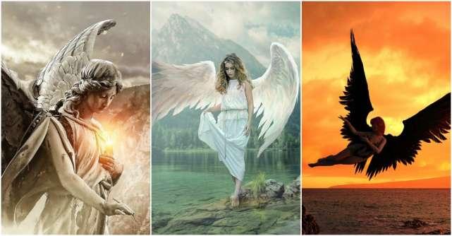 Alege îngerul păzitor și află mesajul pe care îl are pentru tine pentru luna august