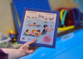 Nu mi-e frica de apa! – prima carte cu si pentru copii, dedicata educatiei acvatice