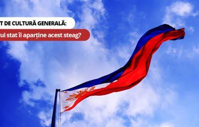 Test de cultura generala: Carui stat ii aparține acest steag?