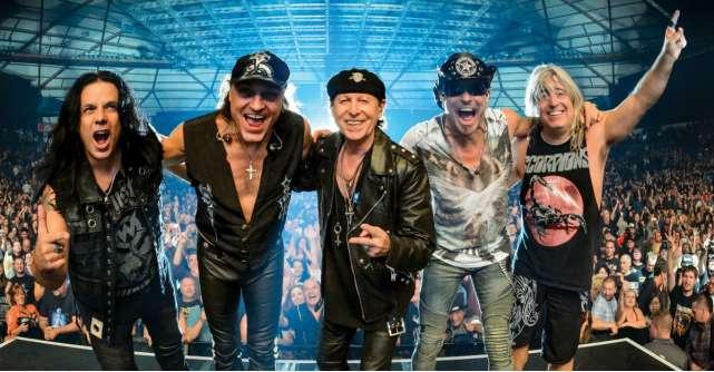 Un concert de colectie - Scorpions, pe 12 iunie 2018 la Bucuresti, in cadrul Crazy World Tour