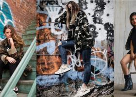 Cum porți imprimeul camuflaj: sugestii de ținute stilate în stil military