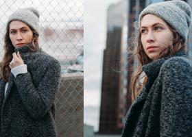 Căciuli de iarnă și fesuri cu aplicații prețioase: modele de lână groase