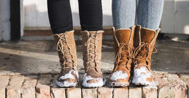 Pregătește-te pentru sezonul rece: 4 ghete de iarnă care îți vor încălzi picioarele iarna aceasta