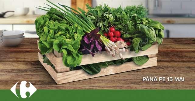 Carrefour lansează Lădița cu verdețuri pentru a susține producătorii locali