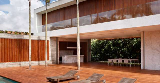 Casa AN, intre contraste si minimalism