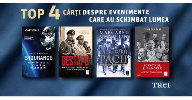 Top 4 cărți despre evenimente care au schimbat lumea