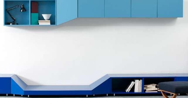 Culoarea albastru: 14 accesorii si piese de mobilier
