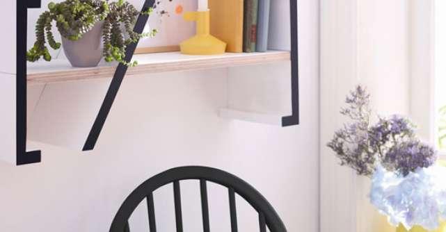 Pas cu pas: cum sa va faceti singuri un raft elegant pentru carti