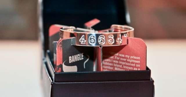 Adina Buzatu sustine Fundatia Nelson Mandela 46664 Bangles Romania