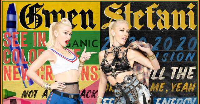 Gwen Stefani isi celebreaza cariera prin videoclipul piesei Let Me Reintroduce Myself