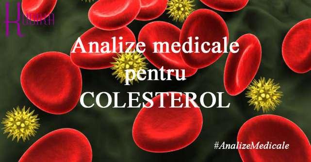 Analize medicale pentru COLESTEROL si alte grasimi din sange