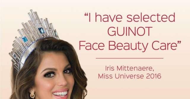Miss Universe, Iris Mittenaere, a devenit Ambasador Guinot