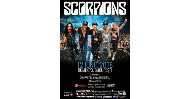Un concert de colecție: Scorpions, pe 12 iunie, la București, în cadrul Crazy World Tour