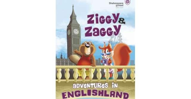Lansare de carte pentru copii la Shakespeare School