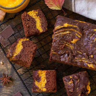 Reteta de espresso pumpkin spice brownies, cea mai buna prajitura de sezon