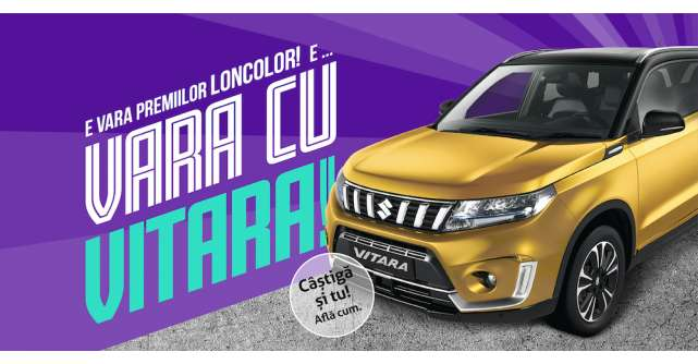 Campania de vară LONCOLOR: 1000 de premii instantși marele premiu, o mașină Suzuki Vitara