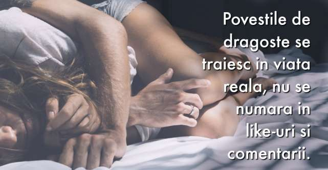 Dragostea nu inseamna doar fericire, imbratisari si pupici