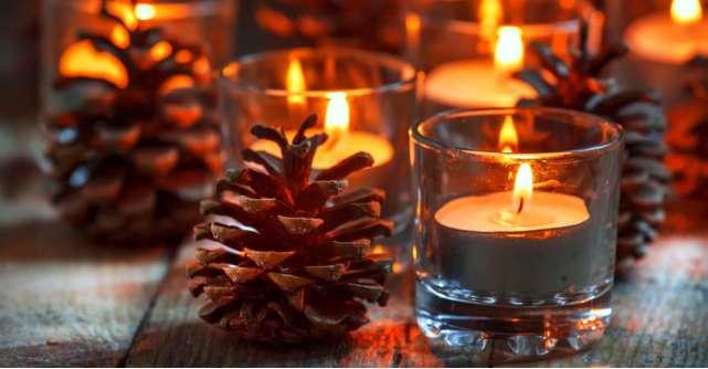 7 lumânări parfumate și aromate pentru o atmosferă magică de Crăciun