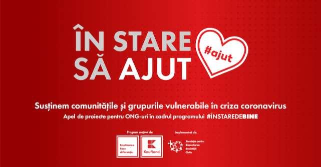 În stare să ajut: Kaufland porneste mobilizarea extraordinară a organizațiilor neguvernamentale